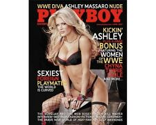WWE Ashley Massaro Playboy Magazine April 2007