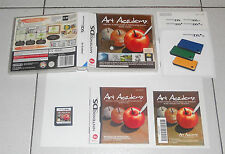 Nintendo DS NDS ART ACADEMY - Perfetto ITALIANO PAL 2010 tr blu