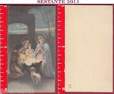 2586 SANTINO HOLY CARD NATIVITà GESù BAMBINO NATALE NB 505