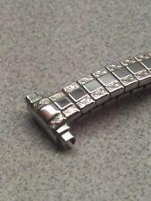 NOS Speidel Twist-O-Flex 10-13mm Adj Ends Stainless Expansion Watch Band