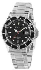 Neu Jet Set Unisex Damen Herren Modeuhr Polycarbonat Armbanduhr  #069