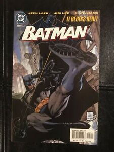 Batman #608 DC Comics 2002 Jim Lee art, Batman: Hush, 1st Tommy Elliot