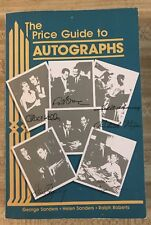 1988 The Price Guide To Autographs Book