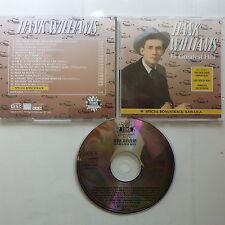 CD Album HANK WILLIAMS 16 greatest hits + Bonus Kaw liga  CD 11003