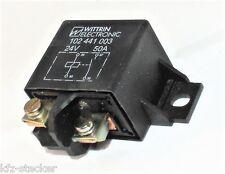 Universal HD Relais 12V 50A 4polig Schließer Arbeitsstromrelais Trennrelais Diod