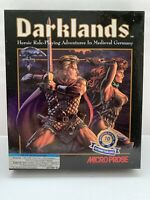 Darklands by Micropose CIB With Map PC Game