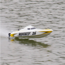 ROCKET RC Boat Deep-V Hull Brushless Electric Joysway 8651