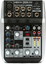 Behringer Xenyx Q502USB Mixer with USB