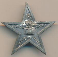 CANADA STAR SHAPED MEDAL DATE? SAVED ARMY IN GOD WE TRUST LEROUX 1121