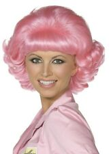 Beauty School Dropout Frenchy Grease Pink Wig