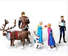Official Disney 6 Pc Frozen Figurine Playset Special Xmas Gift For Girls Kids