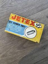 Vintage JETEX 50 Jet Power Unit - Boxed Unused