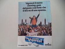 advertising Pubblicità 1978 GOMME CHEWING GUM BROOKLYN VIGORSOL PERFETTI