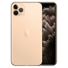 Apple iPhone 11 Pro Max - 64GB - Gold (Cricket) A2161 (CDMA + GSM) - Good Cond