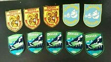 Lot Of 10 Vintage Voyager Iron-on Patches