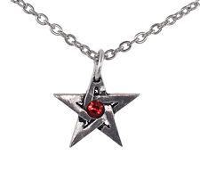 Crystal Pentagram Pendant - Alchemy Gothic Pentacle Amulet/Talisman