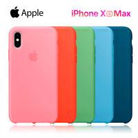 Apple Silicone case funda para iPhone Xs Max silicona suave MTFE2FE/A