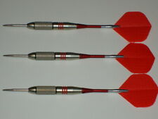 Steel Tip Darts, Used 24 Gram Plated, with Aluminum Spinning Shafts, #2731