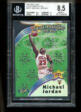 1997 MICHAEL JORDAN ULTRA STAR POWER PLUS BGS 8.5 W 9.5 CENTERING 9 CORNERS