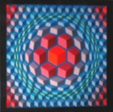 Victor Vasarely Lithograph Cheyt - MC-4  1971