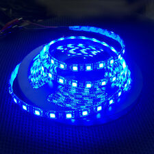 NEW 5M 5050 Black PCB SMD 300 LED Strip Light Blue NonWaterproof Car/XMAS Tree