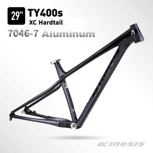 Kinesis 29er Mountain Bike Hardtail Frame with 142*12mm Thru-axle Boost 148*12mm