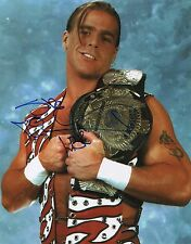 "Shawn Michaels WWE ""Wrestlemania"" WWF Signed Autographed 11x14 E"