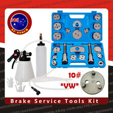 22pcs Brake Caliper Wind Back Wind Back Tool Kit + Air Brake Bleeder Oil Feeder
