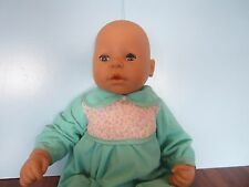 "Zapf Creations 17"" Baby Doll Open Close Eyes"