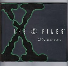 The X - Files 1997 Desk Diary Hardcover Book UFOs Aliens Conspiracy