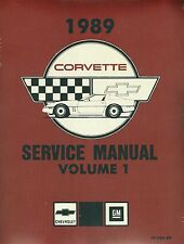 1990  CORVETTE SHOP MANUAL