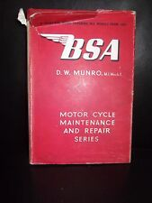 B. S. A. Motor Cycles A Practical Guide Covering All Models From 1931 By D. W. M