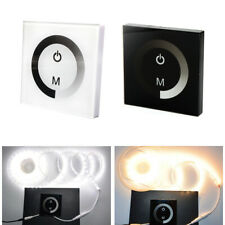 DC12-24V Wall Mount Dimmer Touch Panel LED Controller For Single Color Led Strip