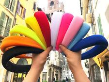 CERCHIETTO IN TESSUTO imbottito alto colori a scelta fascia donna archetto trend