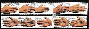Niederlande sammlung....gebrauchte Wohlfart briefmarken satz aus 2000