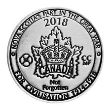 2018 Nova Scotia's Part in the Great War - Fine Silver Medal - 1 oz.