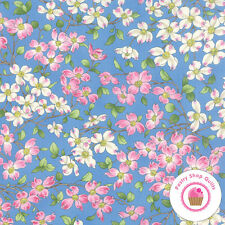 Moda DOGWOOD TRAIL II Sky Blue 33031 18 Sentimental Studio QUILT FABRIC