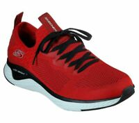 Slip On Walk Skechers Red Shoes Men Memory Foam Train Sport Comfort Casual 52757