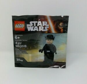 LEGO 5004406 Star Wars First Order General Minifigure Poly Bag