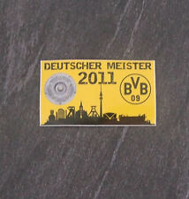 BVB Borussia Dortmund Aufkleber Deutscher Meister 2011