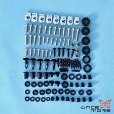 Motorcycle Fairing Complete Bolt Screws Kit Set For Suzuki GSX-R 600 750 2004-05