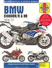 2010 2015 2016 2017 BMW S1000RR/R & XR Haynes Service Repair Shop Manual 14004