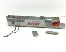 HO Scale Burlington Northern BNSF Wired Locomotive Shell ONLY For PARTS REPAIR