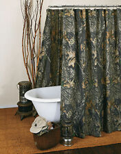 MOSSY OAK CAMO CAMOUFLAGE SHOWER CURTAIN - CAMOUFLAGE BATH ACCESSORIES