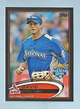 DAVID FREESE 2012 TOPPS BLACK /61 CARDINALS