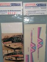 Hilscher Stettnisch Beschriftung Bus Setra S215HD å *