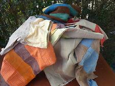 Ancien tissu, couture, tissu patchwork, pour loisir créatif