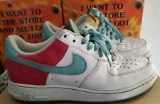 Nike Air Force 1 HAWAIIAN Hibiscus Flower  Sneakers Shoes Men's Size 9.5 AF1