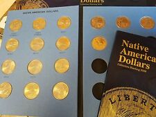 Complete 18 Coin Set (2009-2017 P&D) Sacagawea Native American Dollars Sequoyah