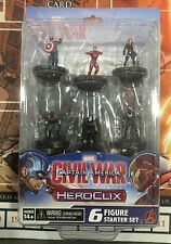 HEROCLIX MARVEL Captain America: Civil War - Starter pack (inglés)